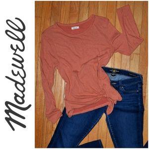 Madewell Shirt long sleeve blouse